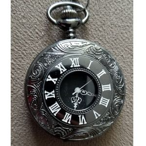 Vintage Style Pocket Watch Chain Necklace